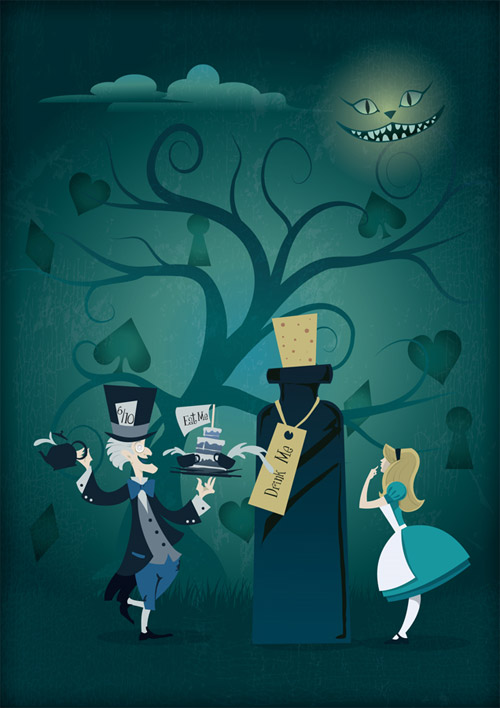 Alice in Wonderland Artwork