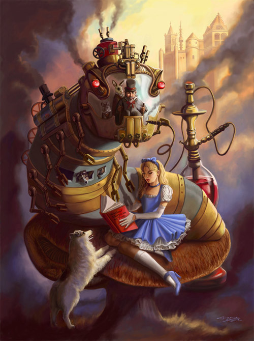 Steam Punk Alice in Wonderland