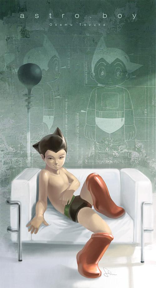 astro boy design