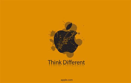 orange apple wallpaper