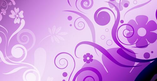 floral swirls photoshop
