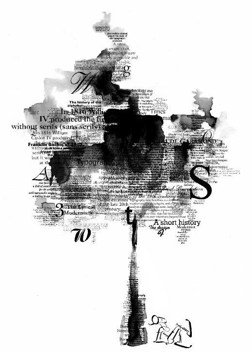 typography tree