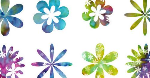flower petals brush