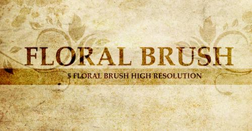 floral brush ado