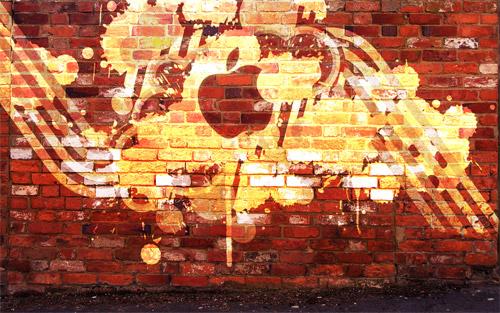 apple tag wallpaper