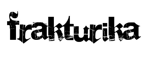 Fraturika font