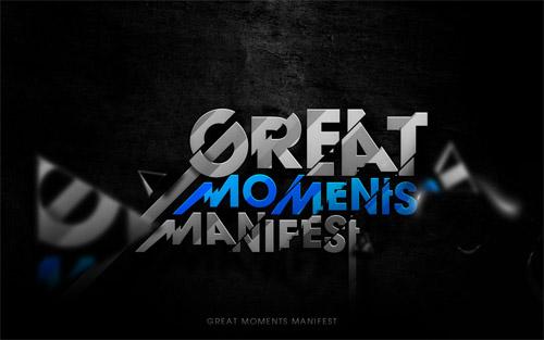 moment manifest typography