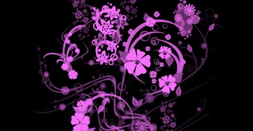 floral photoshop flower