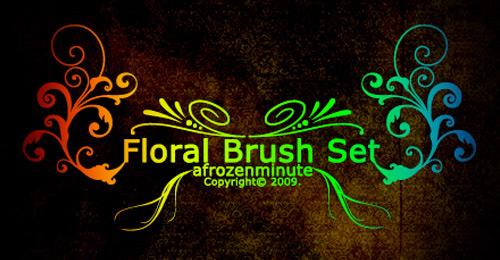 floral adobe sets