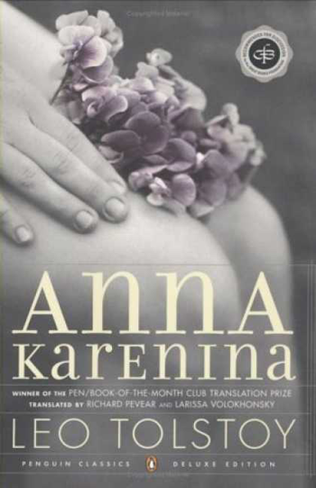 Beautiful Book Covers - Anna Karenina