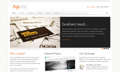 Corporate WordPress Themes - Agivee