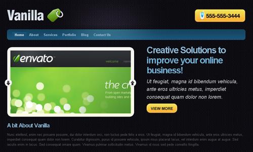 Corporate WordPress Themes - Vanilla