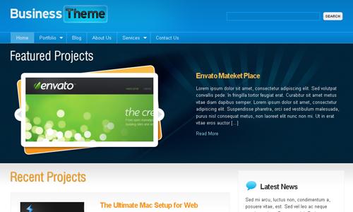 Corporate WordPress Themes - Business Theme