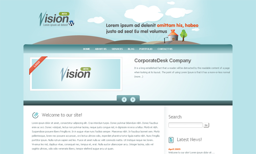 Corporate WordPress Themes - Vision Business
