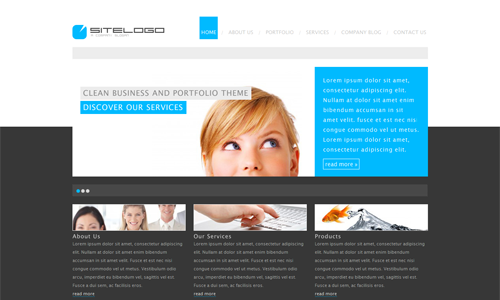 Corporate WordPress Themes - RT-Theme 7