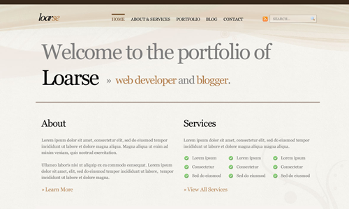 Corporate WordPress Themes - Loarse
