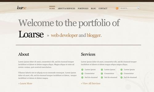 Corporate WordPress Themes - Loarse