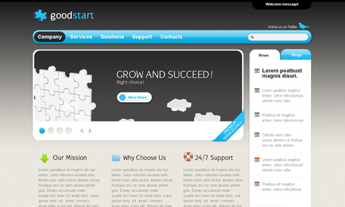 Corporate WordPress Themes - Good Start