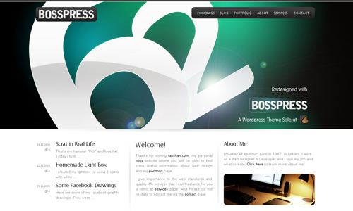 Corporate WordPress Themes - BOSSPRESS