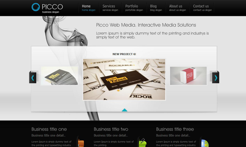 Corporate WordPress Themes - Picco