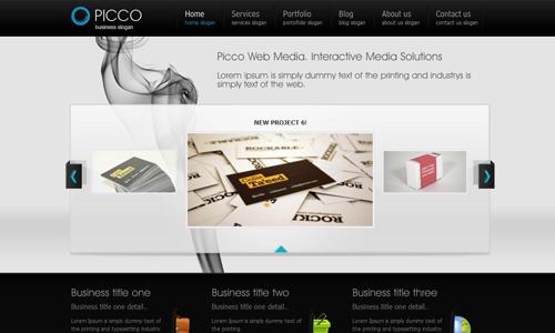 Corporate WordPress Themes - Picco