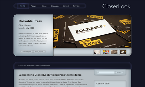 Corporate WordPress Themes - CloserLook