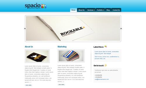 Corporate WordPress Themes - Spacio