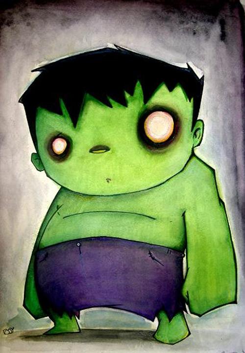 the hulk art