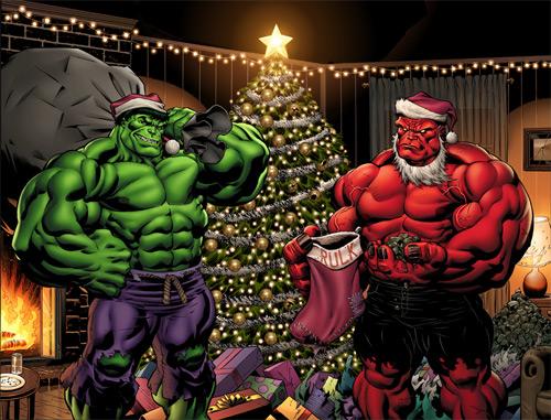 christmas hulk