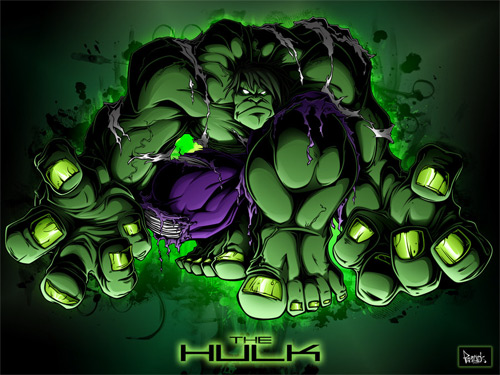 the hulk design