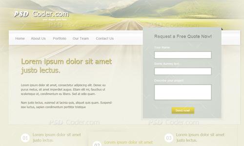 classy template web tutorial