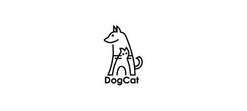 new beautiful animal logo design