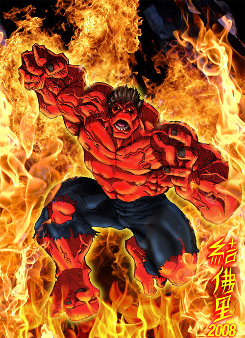 red hulk unleashed