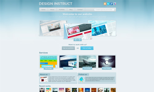 sleek web design tutorial