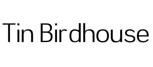 tin bird house