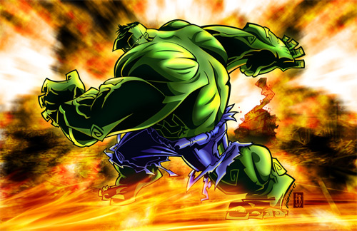 hulk smashed