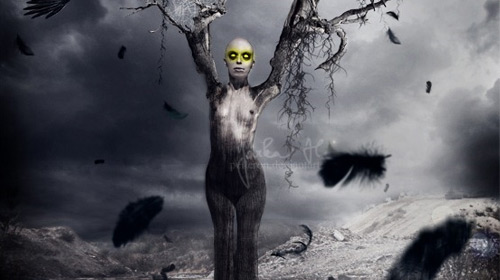 horror photo manipulation