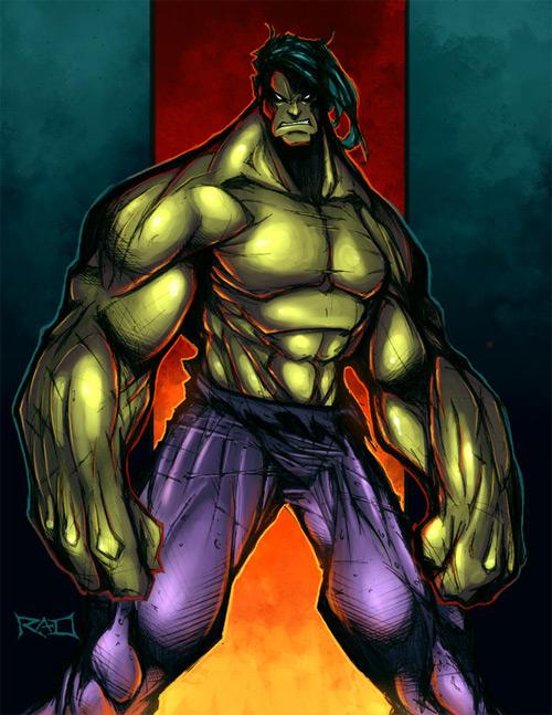 sketch hulk