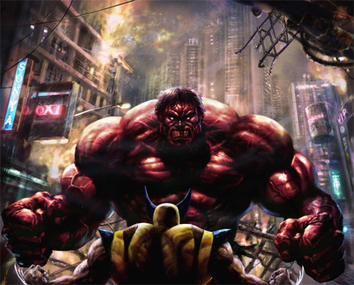 big red hulk