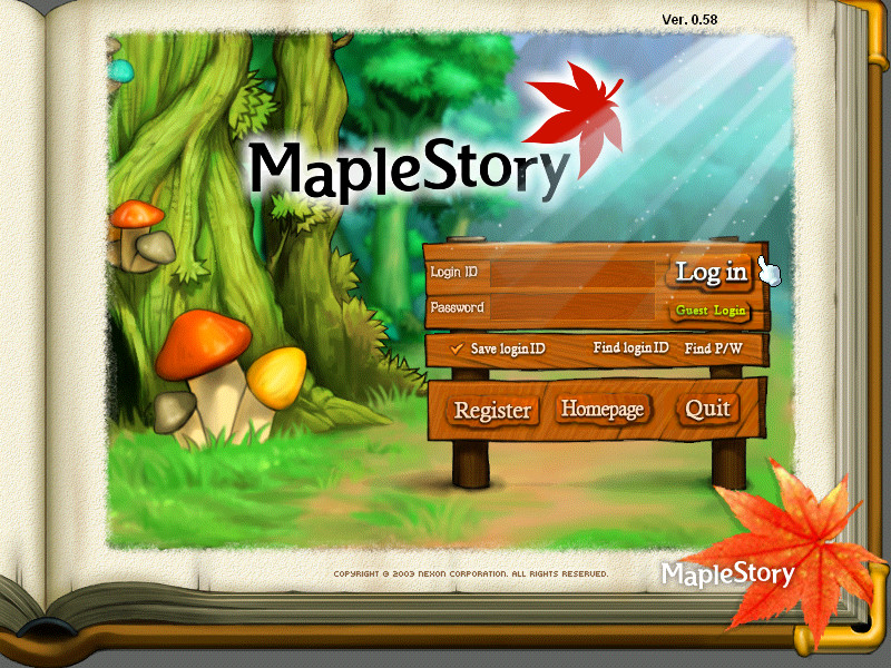 10-Updated Maple Login by maple-story on DeviantArt