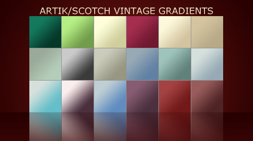 new vintage gradient photoshop