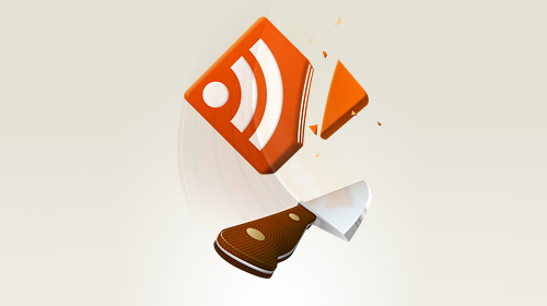 rss feed icon cut