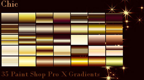 chic photoshop gradient