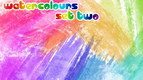 watercolors set two