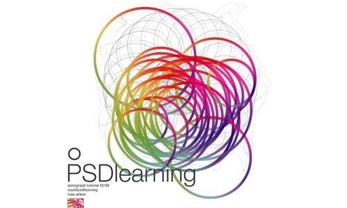 colorful spirograph