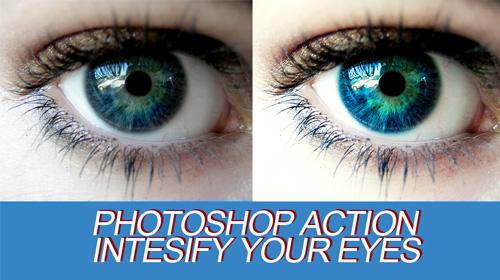 photoshop action bright eyes