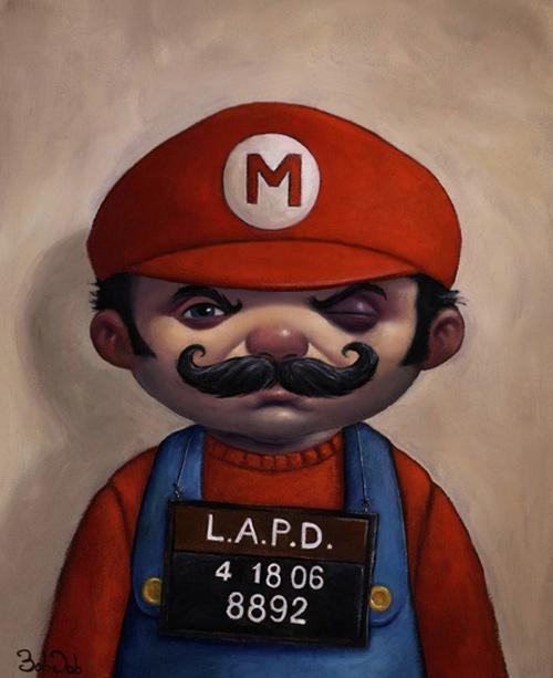 mario paintings