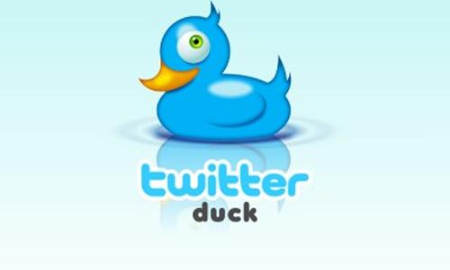 twitter duck
