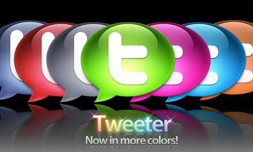 colorful twitter