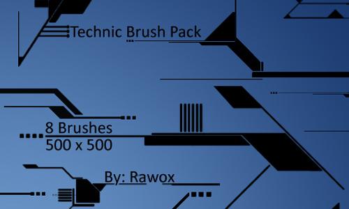 tech brush pack